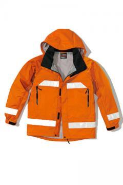 ユニフォームや制服・事務服・作業服・白衣通販の【ユニデポ】【全3色】全天候型リフレクタージャケット