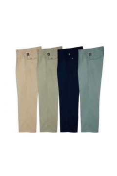 作業服の通販の【作業着デポ】【全4色】ワークパンツ(2タック・エコペットツイル)