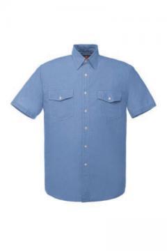 半袖ダンガリーシャツ・ヒッコリーシャツ