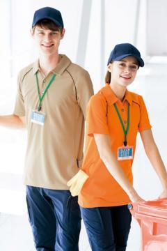 作業服の通販の【作業着デポ】【全5色】バックサイドポケット付半袖ポロシャツ(男女兼用)