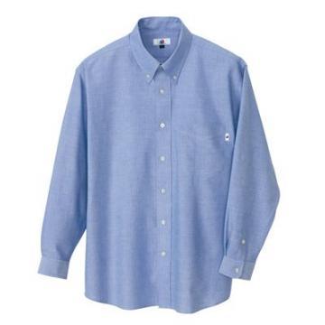 作業服の通販の【作業着デポ】長袖オックスシャツ