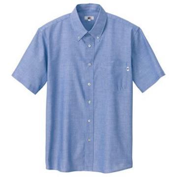 ユニフォームや制服・事務服・作業服・白衣通販の【ユニデポ】半袖オックスシャツ