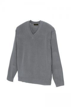 ユニフォームや制服・事務服・作業服・白衣通販の【ユニデポ】Vネックセーター