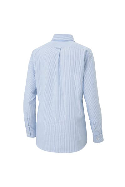 メンズ長袖オックスボタンダウンシャツ