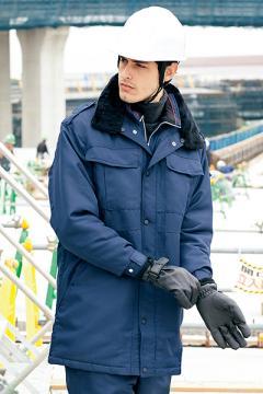エステサロンやリラクゼーションサロン用ユニフォームの通販の【エステデポ】防寒コート(セミロング)