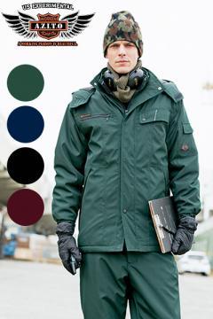 ユニフォームや制服・事務服・作業服・白衣通販の【ユニデポ】【全4色】本格防風防寒コート(AZITOシリーズ)