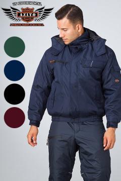 作業服・作業着用ユニフォームの通販の【作業着デポ】【全4色】本格防風防寒ブルゾン(AZITOシリーズ)