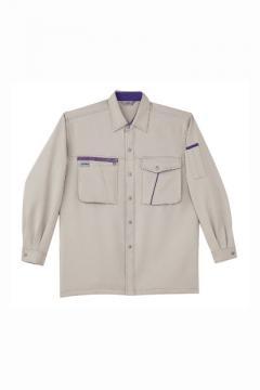 作業服・作業着用ユニフォームの通販の【作業着デポ】厚地長袖シャツ