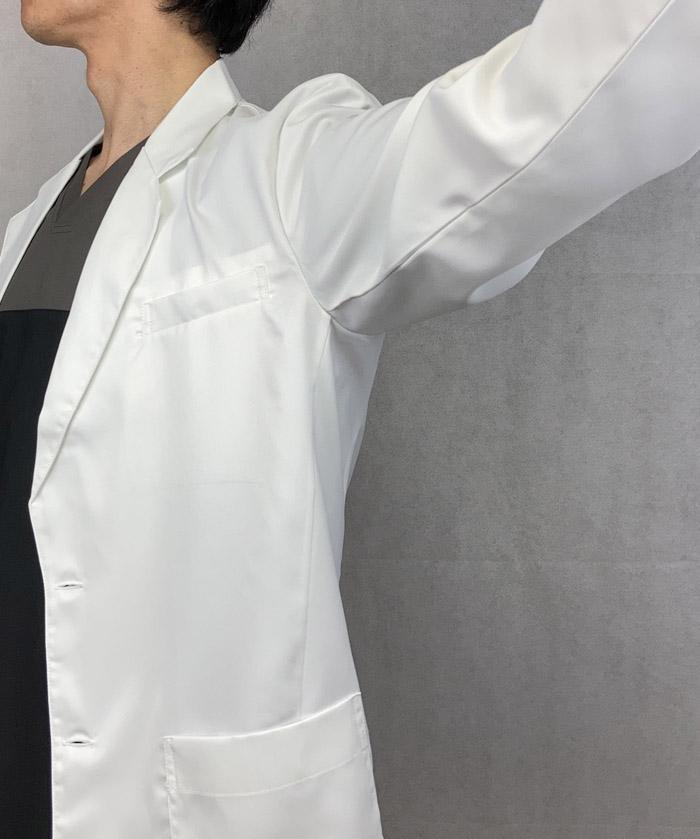 メンズブレザードクターコート 白衣