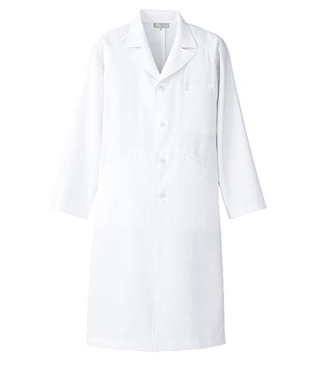 メンズセミピーク型診察衣 白衣