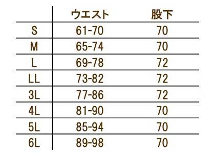 【全3色】ストレートパンツ(レディース) サイズ詳細