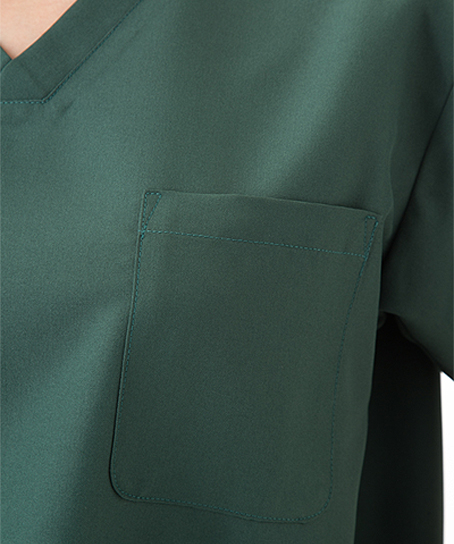 【全7色】スクラブ 白衣(制菌加工・高機能素材/兼用)