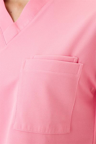 【全5色】ニットスクラブ 白衣(ストレッチ性)