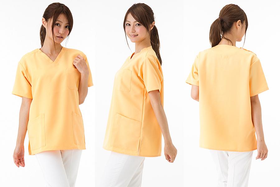 【全18色】スクラブ 白衣(撥水・制電/兼用)