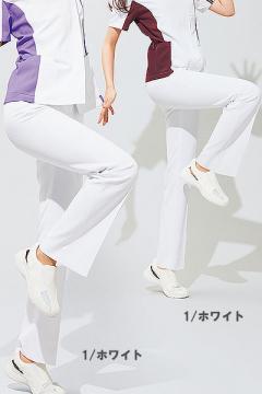 白衣や医療施設用ユニフォームの通販の【メディカルデポ】【全5色】レディースシャーリングパンツ(高機能)
