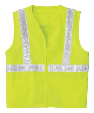 作業服の通販の【作業着デポ】高視認性LEDベスト