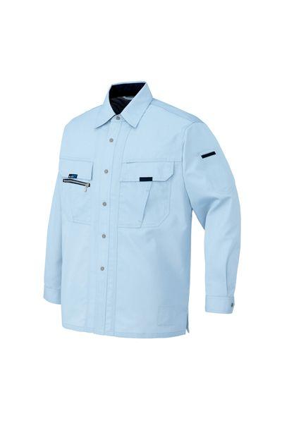 【全4色】長袖サマーシャツ(帯電防止・吸汗速乾・消臭)