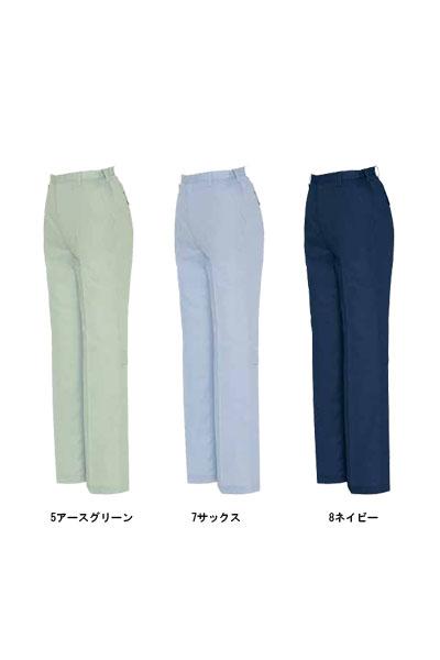 【全4色】レディースシャーリングパンツ(ノータック/春夏対応)