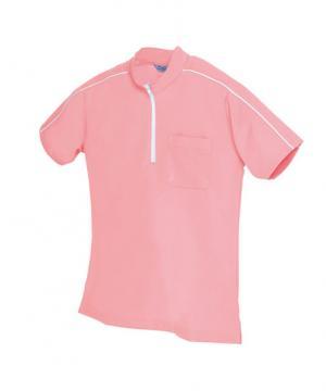【全10色】半袖クイックドライジップポロシャツ(男女兼用)