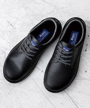 【JIS規格合格商品】ジーベック 短靴 安全靴(樹脂先芯・牛革)