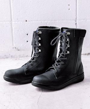 【JIS規格合格商品】ジーベック 長編上 安全靴(樹脂先芯・牛革)