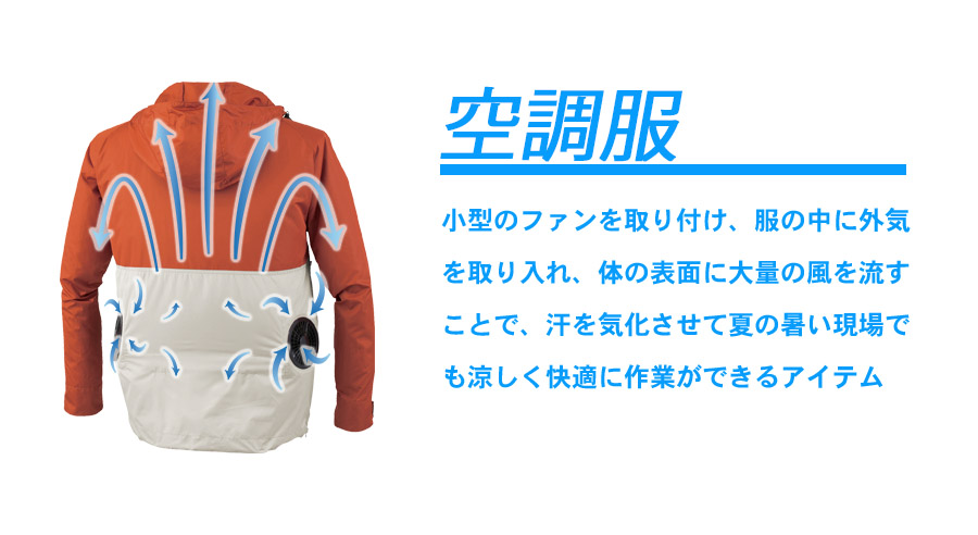 【空調服】半袖ブルゾン(撥水・男女兼用)(単品)