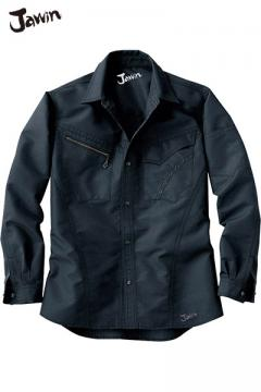 作業服の通販の【作業着デポ】【Jawin ジャウィン】長袖シャツ(消臭・抗菌・帯電防止)