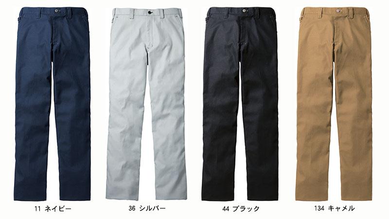 【Jawin】ノータックパンツ(消臭・抗菌・帯電防止)