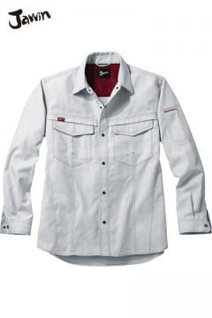 作業服の通販の【作業着デポ】【Jawin】長袖シャツ(帯電防止・消臭・抗菌)
