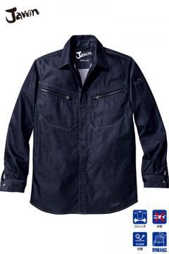 作業服の通販の【作業着デポ】【Jawin】ストレッチ長袖シャツ