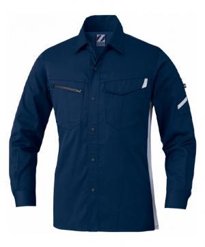 作業服の通販の【作業着デポ】【Z-DRAGON】製品制電長袖シャツ