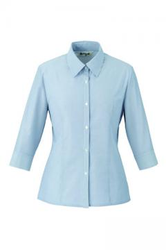 ユニフォームや制服・事務服・作業服・白衣通販の【ユニデポ】七分袖ブラウス