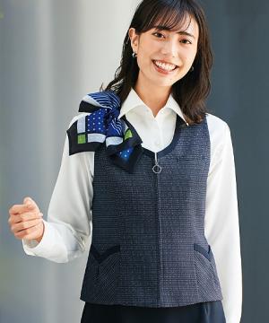 【2色】ベスト(ファスナータイプ/制菌加工)
