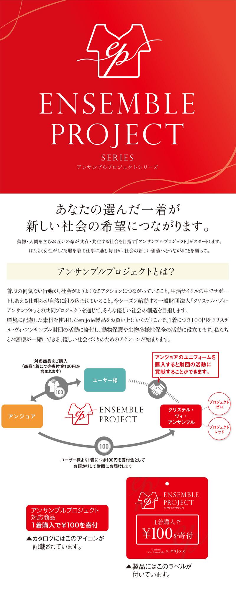 オーバーブラウス(アンサンブルプロジェクト対応商品)