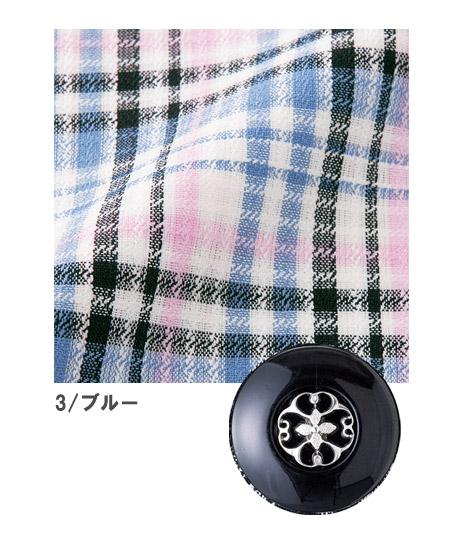 【2色】オーバーブラウス(ジェラートチェック)