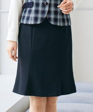 事務服用ユニフォームの通販の【事務服デポ】マーメイドスカート(ツイードニット)