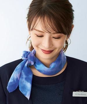【京プリント】スカーフ&シュシュ