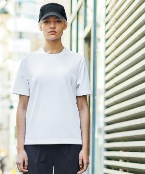 ストレッチ半袖Tシャツ(男女兼用/吸汗速乾/消臭/透け防止)
