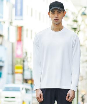 ストレッチ長袖Tシャツ(男女兼用/吸汗速乾/消臭/透け防止)