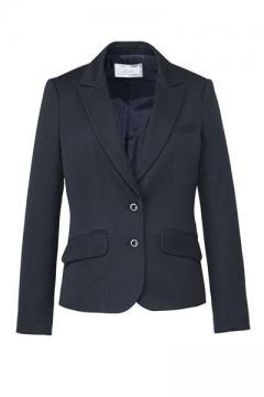 事務服・会社制服用ユニフォームの通販の【事務服デポ】ジャケット(ストライプ・Air fit Suits)※来期廃番予定※