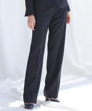 ユニフォームや制服・事務服・作業服・白衣通販の【ユニデポ】セミワイドパンツ(カメリアツイード)