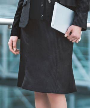 ユニフォームや制服・事務服・作業服・白衣通販の【ユニデポ】マーメイドラインスカート