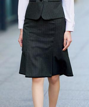 マーメイドラインスカート(ミックストラックチェック)