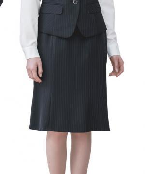 ユニフォームや制服・事務服・作業服・白衣通販の【ユニデポ】【2色】スカート(ストライプ・Airswing suits 1Story)