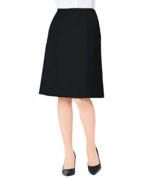 ユニフォームや制服・事務服・作業服・白衣通販の【ユニデポ】【全3色】Aラインスカート(ノンストレスシリーズ)