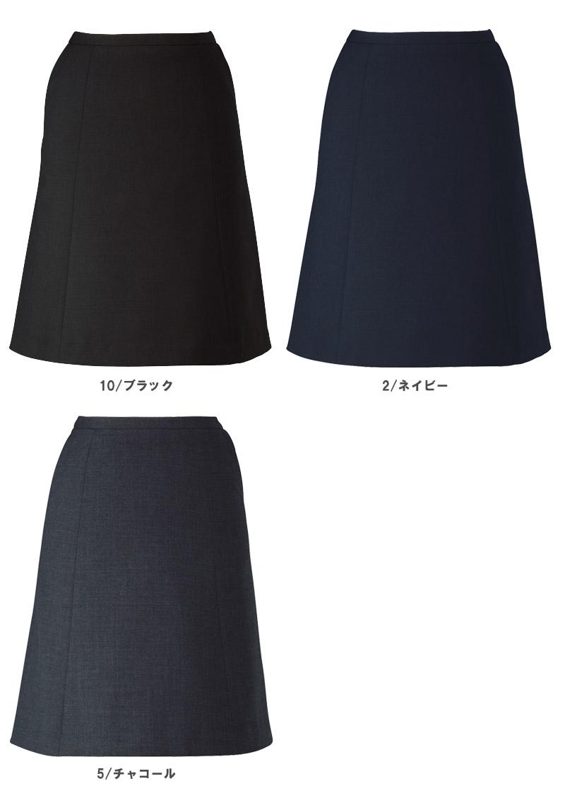 【全3色】フレアスカート(ノンストレスシリーズ)
