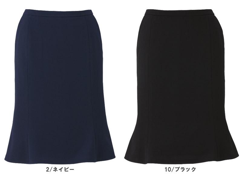 【全2色】マーメイドスカート(ストレッチニットカルゼ)