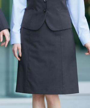 事務服用ユニフォームの通販の【事務服デポ】【3色】Aラインスカート(HIGH STRETCH SUITS)