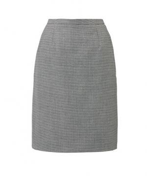 【2色】セミタイトスカート(メランジ千鳥)