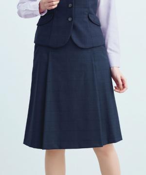 【2色】タックフレアスカート(グラフェンテック)